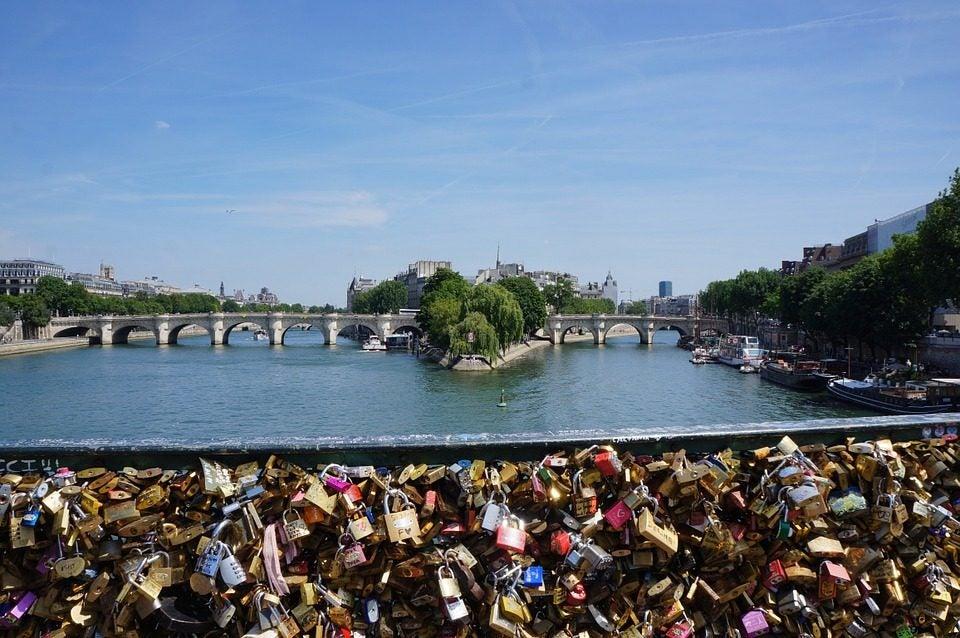 25 cosas que hacer en París. Puente de las artes