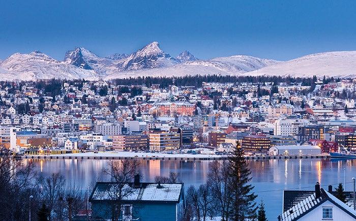 Tromso en invierno