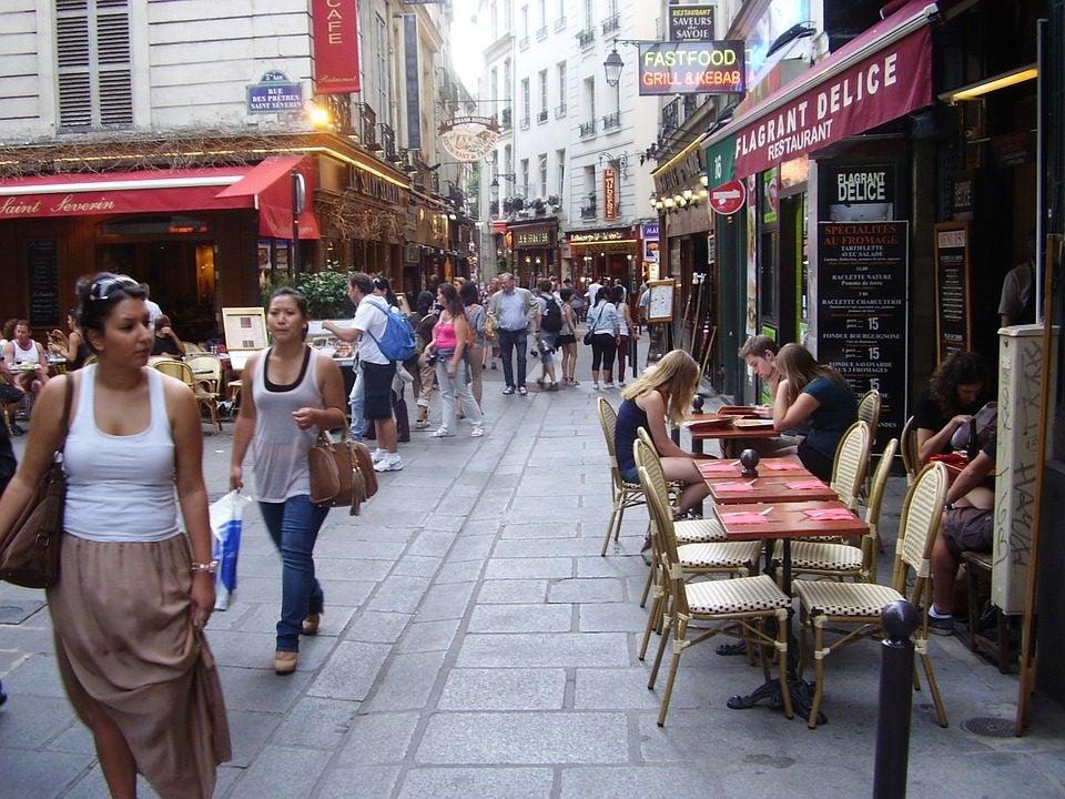 Calles del Barrio Latino, París