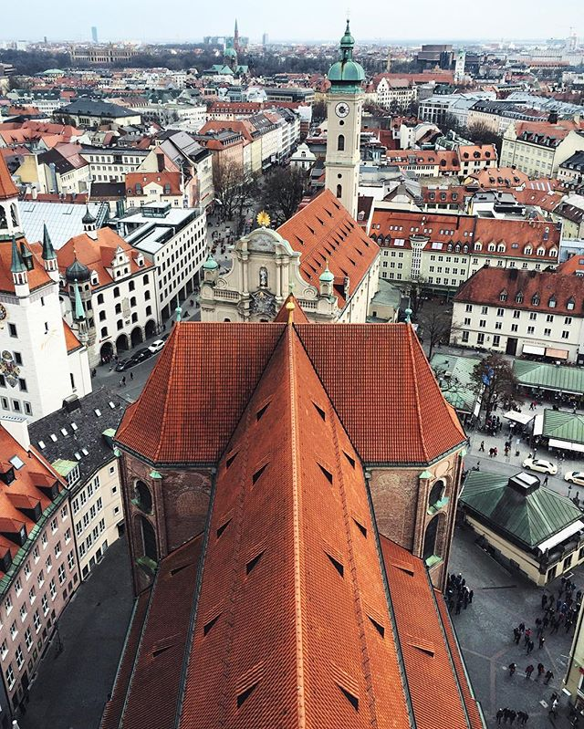 vistas desde la catedral de Múnich