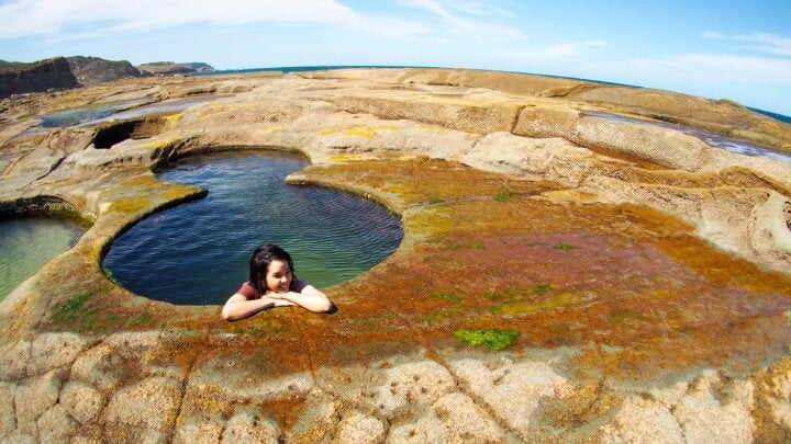 Piscinas rocosas naturales en el Royal National Park, Australia