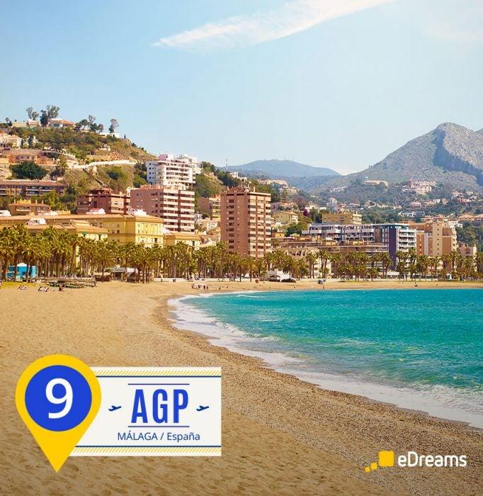 Málaga. Destinos del verano