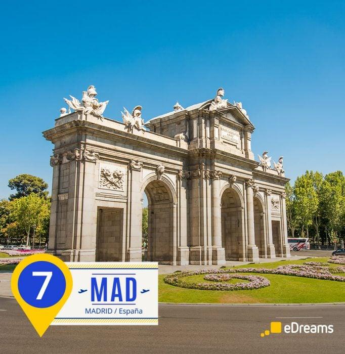 Madrid. Destinos del verano