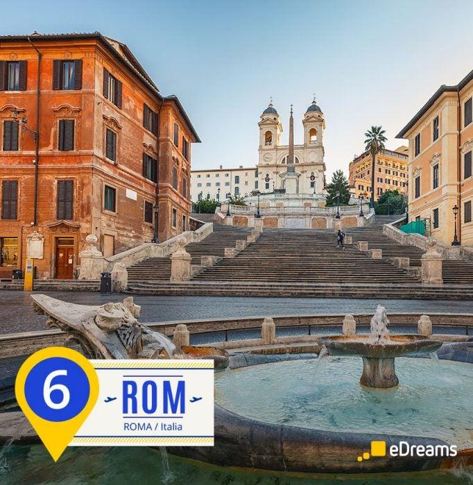 Roma. Destinos del verano