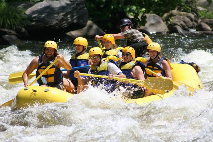 rafting en la rioja