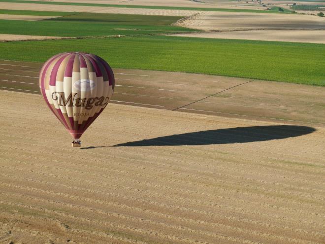 vuelo en globo en la rioja