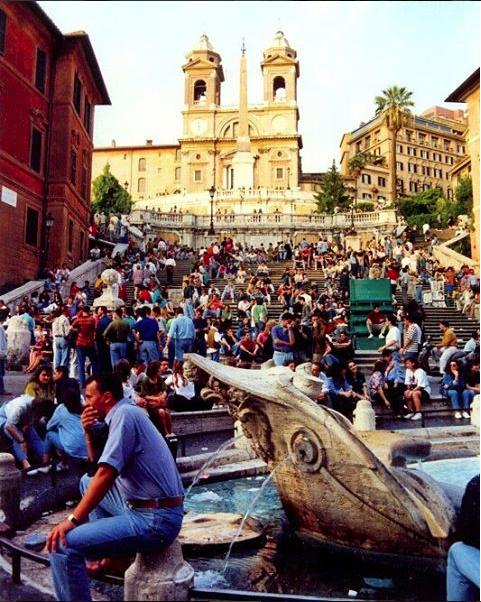 plaza de españa - que ver en Roma