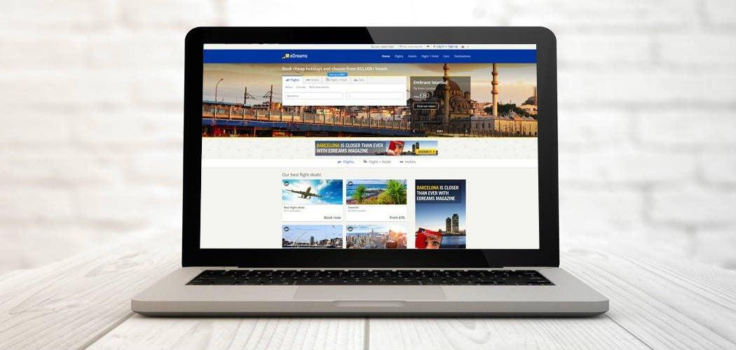 reserva con edreams - blog de viajes