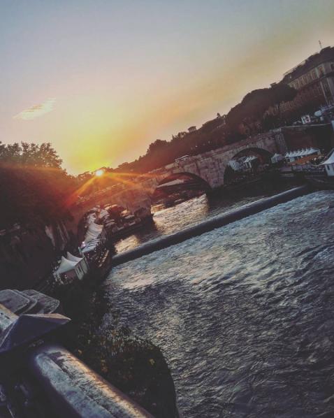 río tíber - razones para viajar a Roma