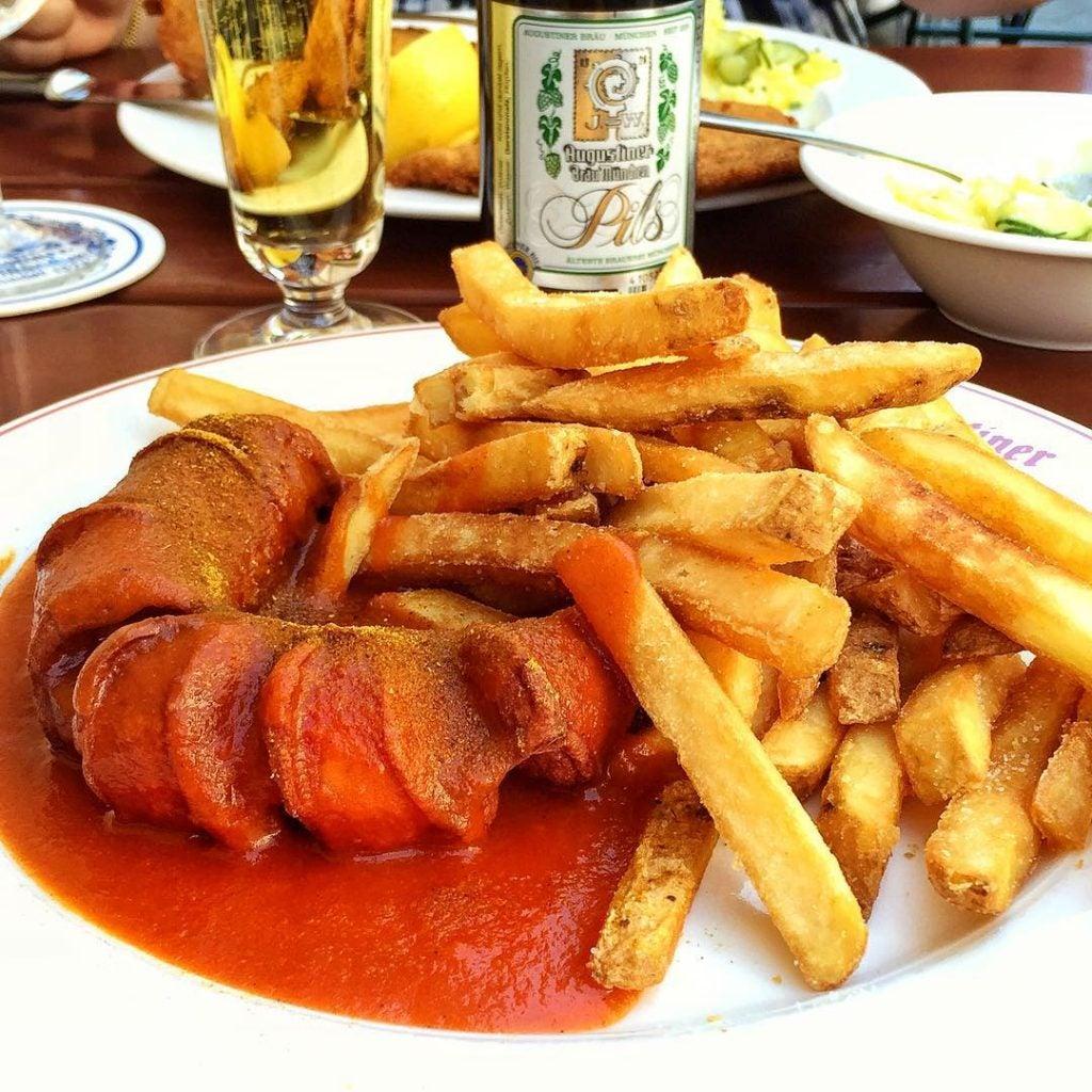 currywurts - qué comer en berlín