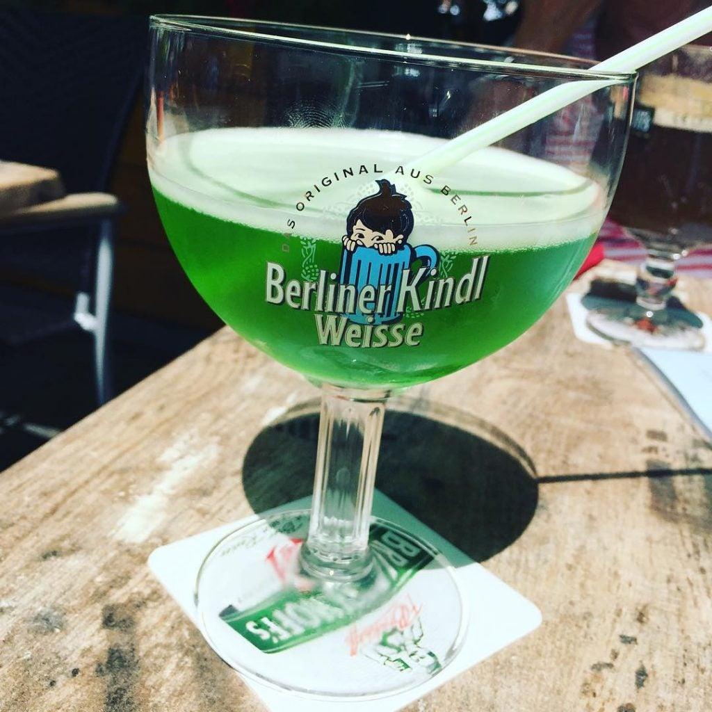 cerveza con jarabe en berlín