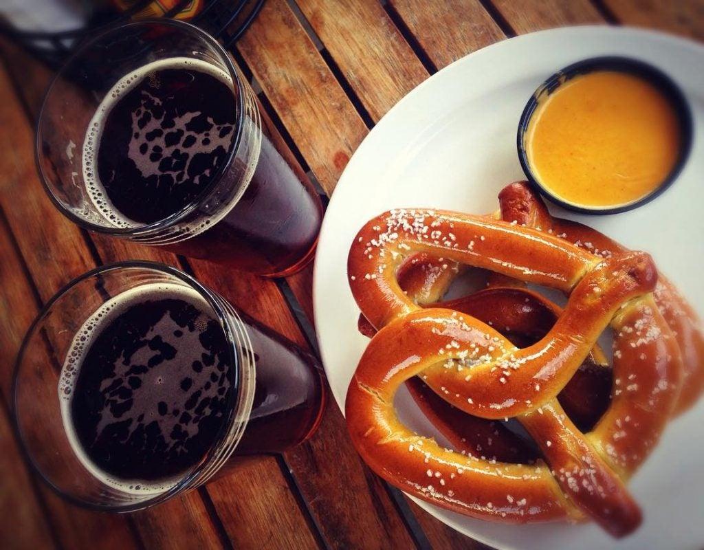 comer en berlín - pretzels