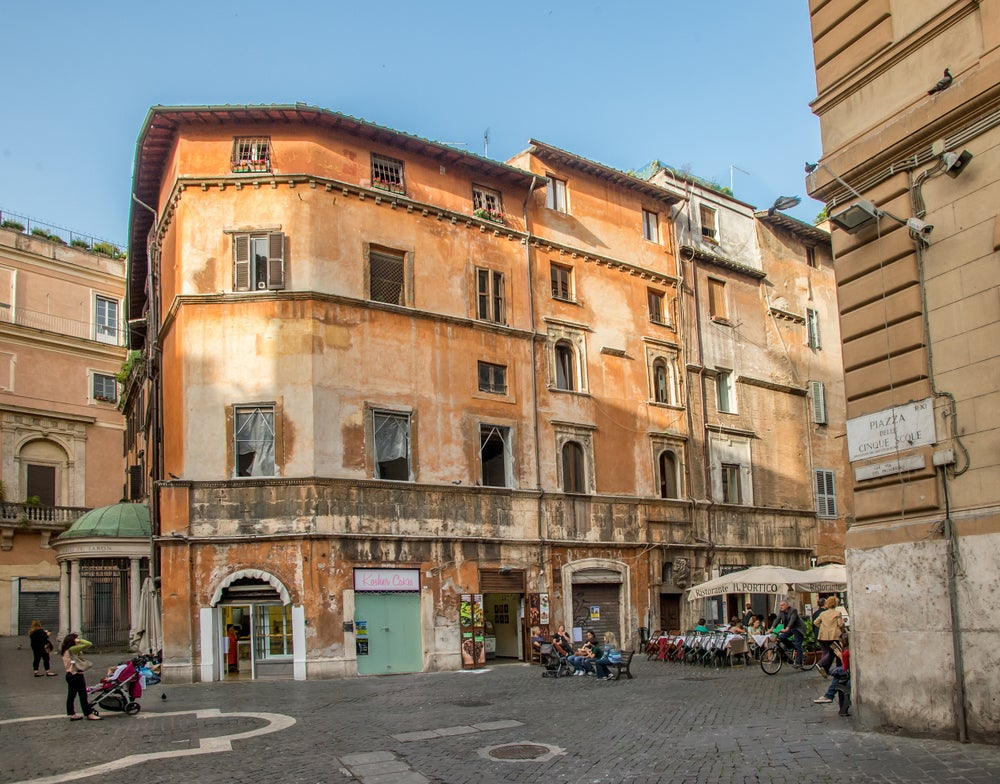 Calles del Ghetto Judío de Roma