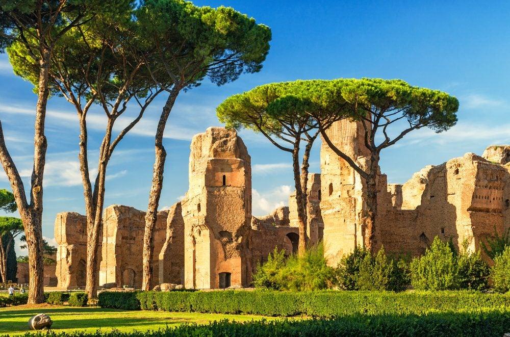 Ruinas arqueológicas de las Termas de Caracalla, un imprescindible que ver en Roma