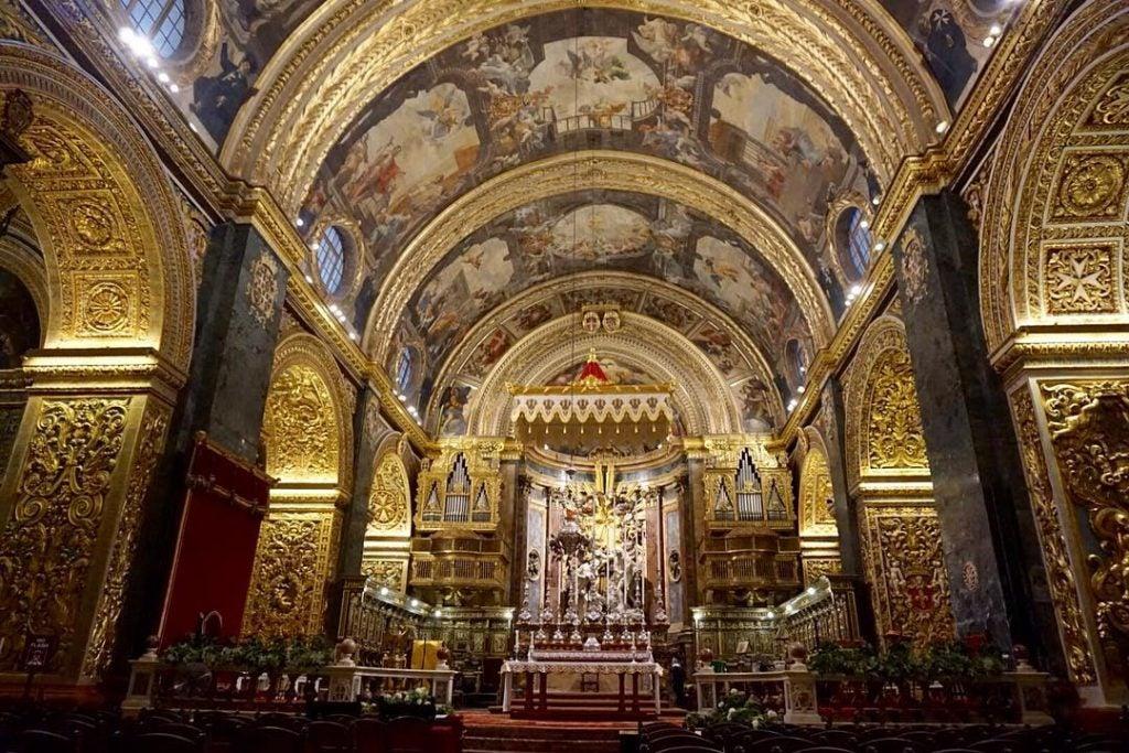 catedral de san juan en valeta - malta