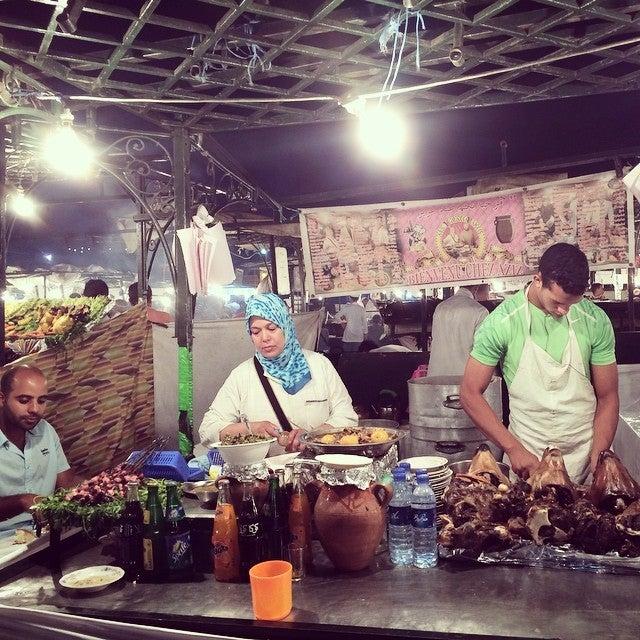 comida en marrakech
