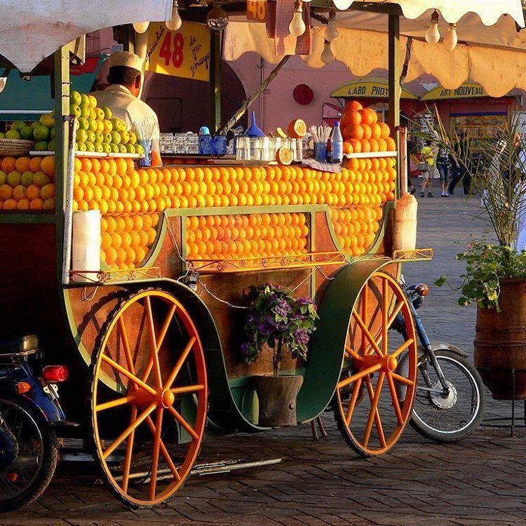 spremuta d'arancia marrakech cosa vedere edreams blog di viaggi