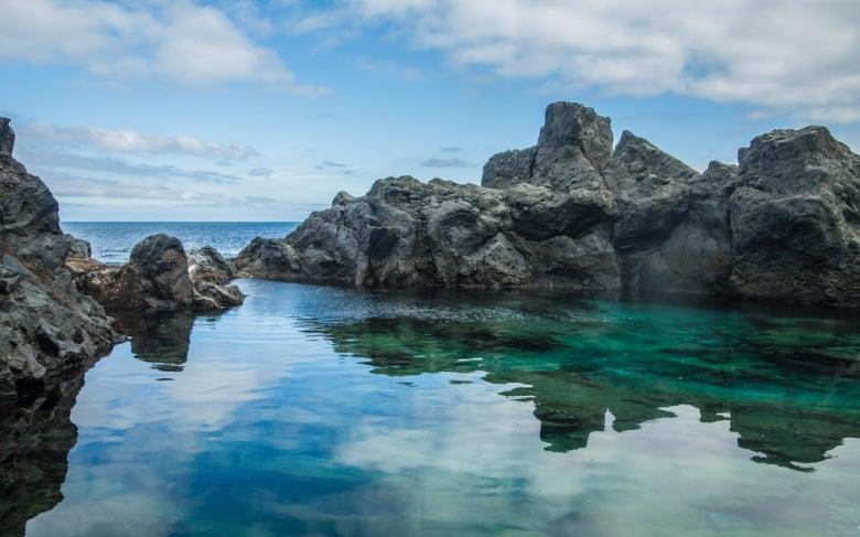 Charco de la Laja, piscina natural en Tenerife
