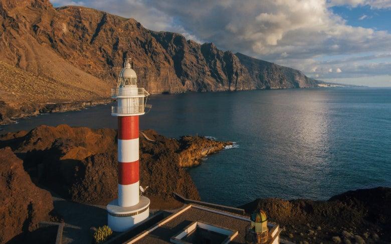 El faro de la Punta de Teno en Tenerife