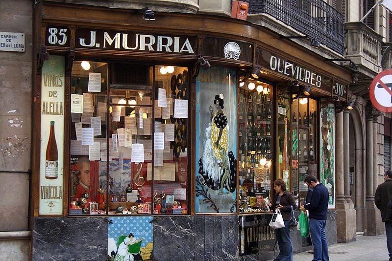 30 actividades que hacer si visitas Barcelona. Colmado Murria