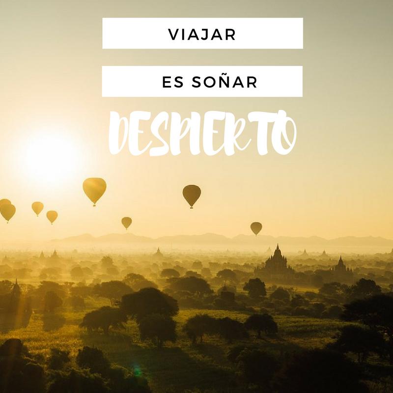 """""""Viajar es soñar despierto"""" Frases que inspiran a viajar"""