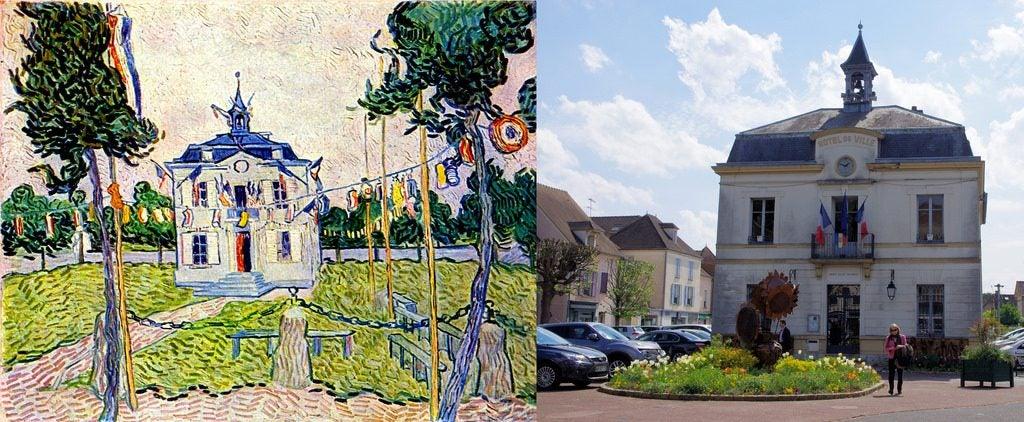 El pueblo que inspiró a Van Gogh. Ayuntamiento