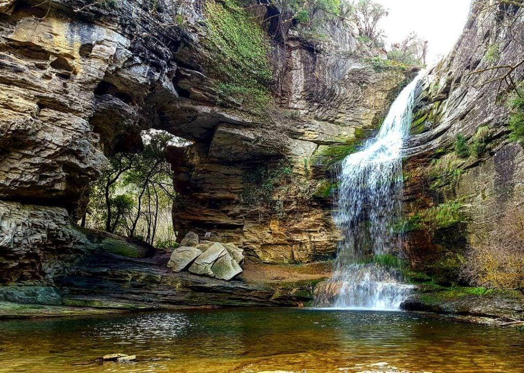La Cascada De La Foradada De Cantonigrós