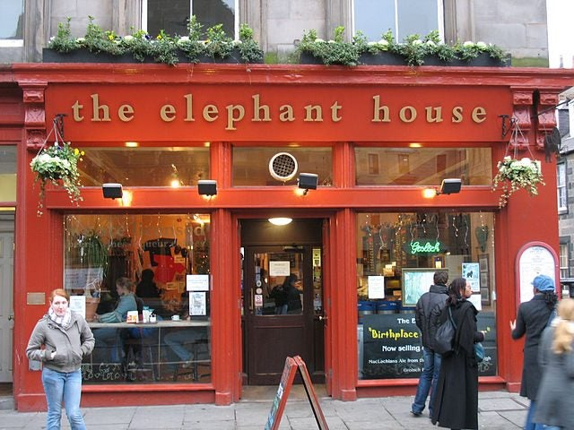 14 razones para viajar a Edimburgo. The Elephant House