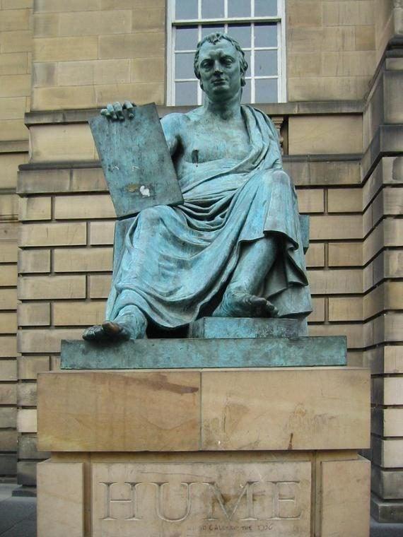 14 razones para viajar a Edimburgo. David Hume