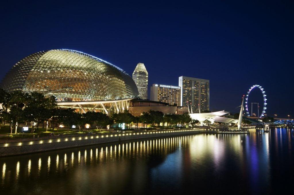 Teatro Splanade Singapur