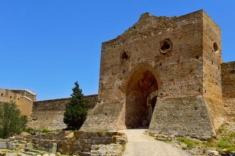 Fortaleza de la antigua ciudad romana de Sagunto, Valencia