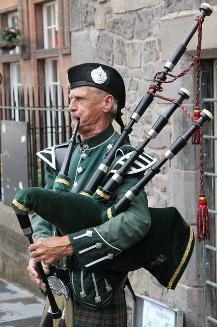 Musica Folk cornamusa edimburgo