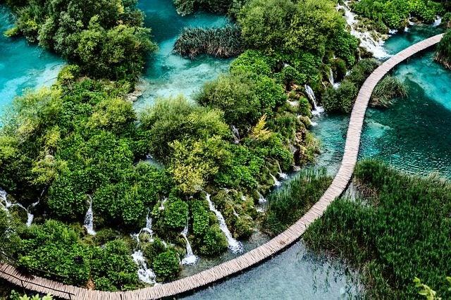 Los bosques más bellos del mundo. Plitvicie Croacia