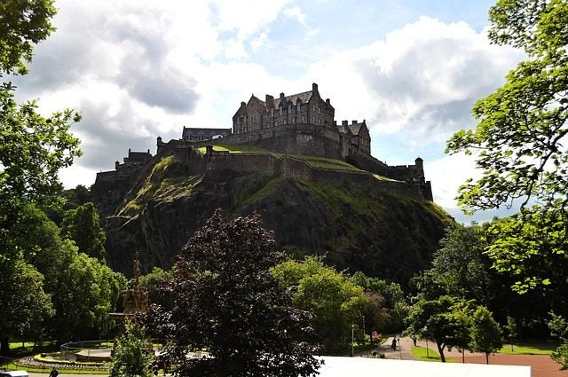 14 razones para viajar a Edimburgo. Castillo