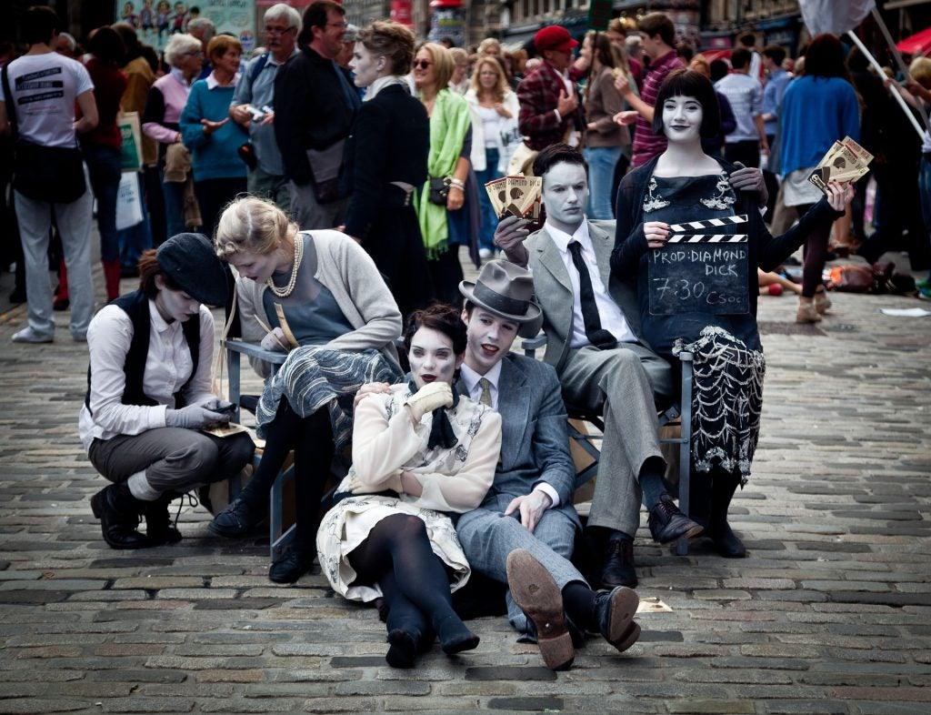 14 razones para viajar a Edimburgo. Fringe Festival