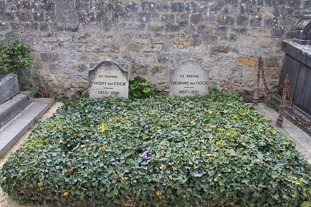 El pueblo que inspiró a Van Gogh. Tumba de Van Gogh