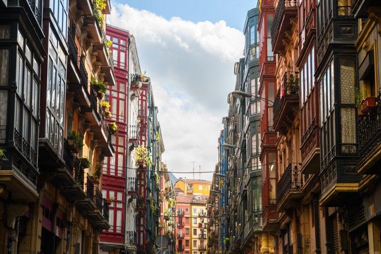 Casco viejo (centro histórico) de Bilbao