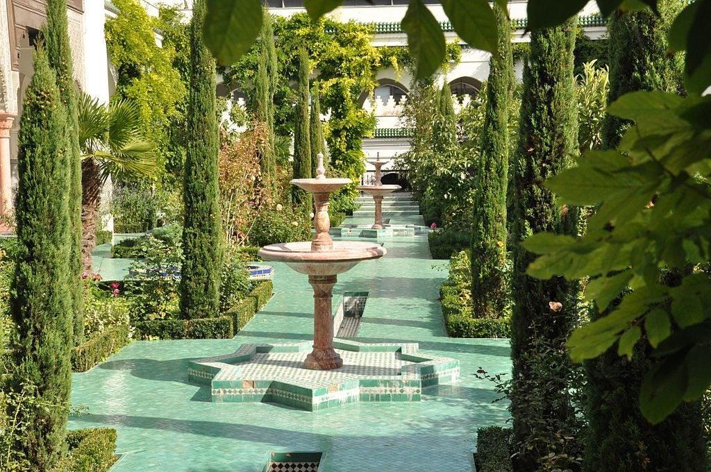 Jardines de la Gran Mezquita de París