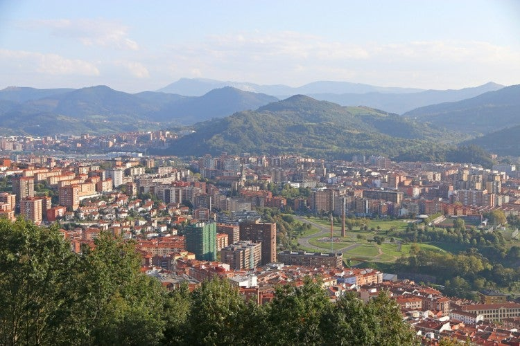 Mirador de Artxanda en Bilbao