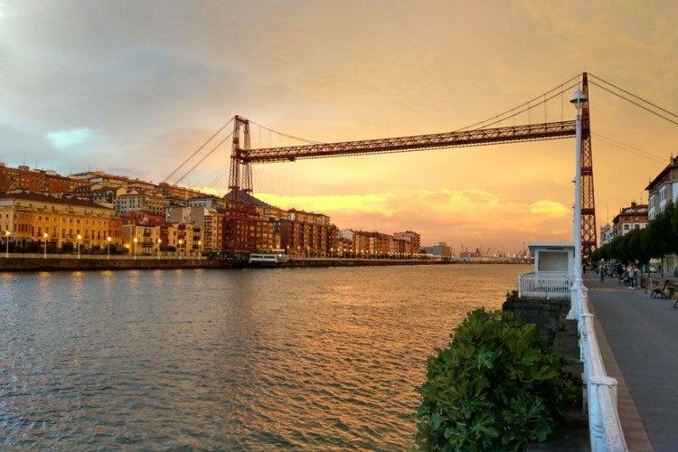Puente de Bizkaia (Puente Colgante) de Bilbao