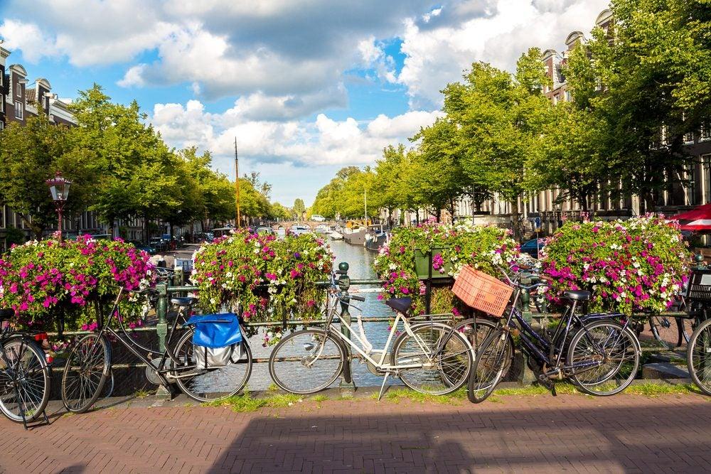 Ámsterdam, Holanda famosa por sus bicicletas