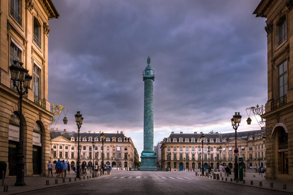 plaza Vendome, París