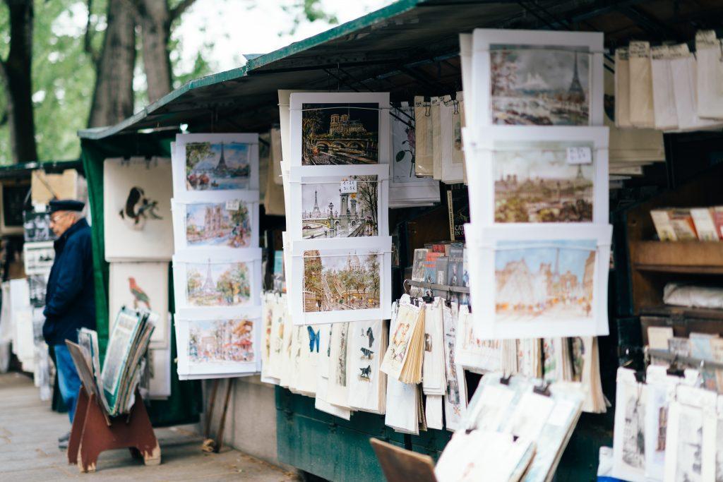 """25 cosas que hacer en París, """"bouquinistes de París"""""""