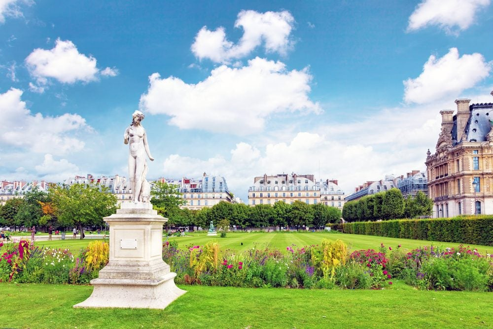 Jardín des Tuileries, en París