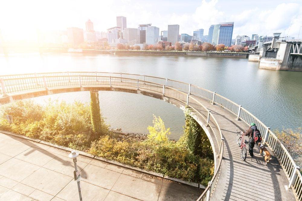Portland en bicicleta