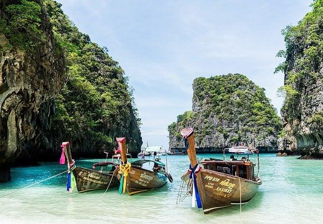 6 Playas con animales increíbles. Playa de los monos tailandia
