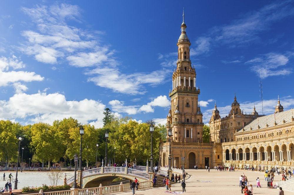 Plaza de España, uno de los lugares que ver en Sevilla