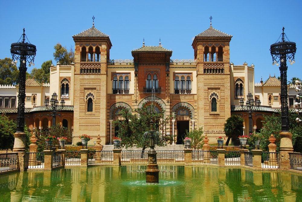 jardines del Parque de María Luisa, Sevilla
