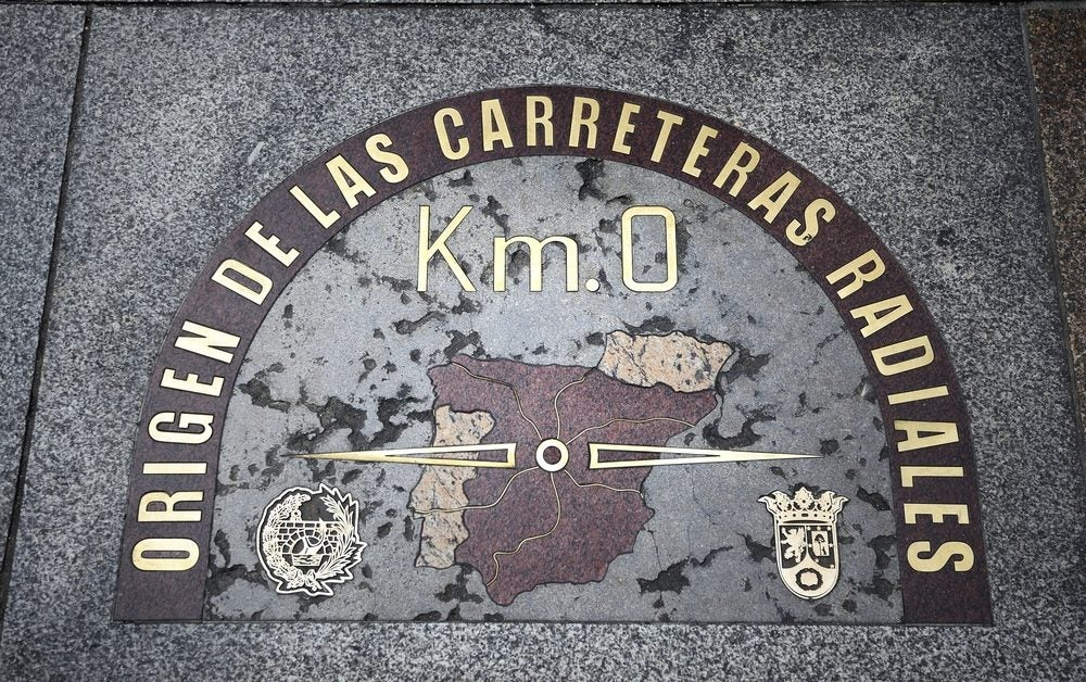 KM 0 plaza del Sol Madrid