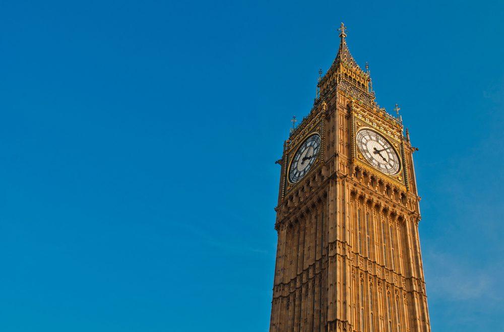 Torre del reloj Big Ben, una de las mejores cosas que ver en Londres.